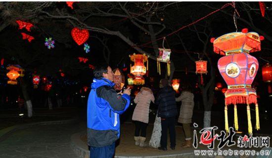 秦皇岛灯会照片