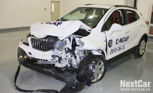 长安福特翼搏碰撞测试-翼博碰撞测试发生断轴 车托回复 这很正常高清图片