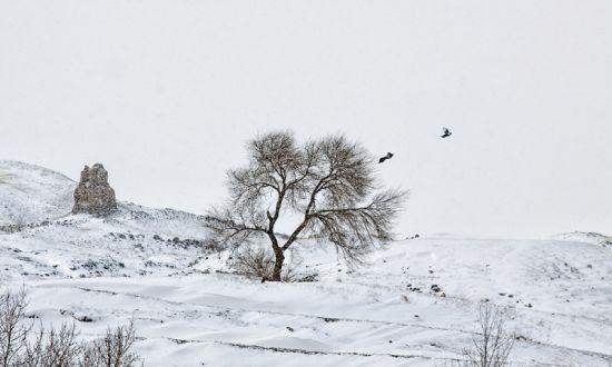 张家口·风雪烽火台