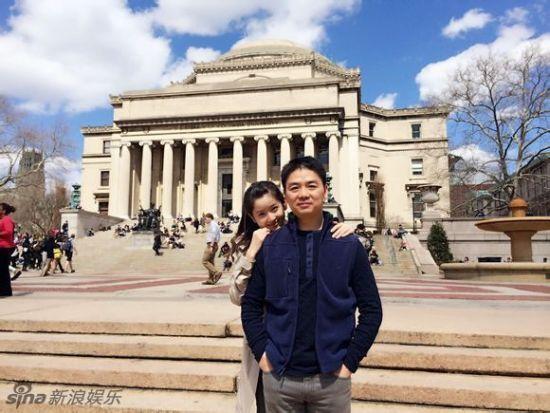 奶茶妹妹劉強東曝情侶照親密無間網友心碎