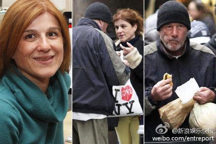 好莱坞巨星火车站扮流浪汉 获赠披萨感动