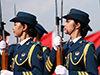 揭秘仪仗队女兵