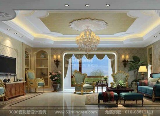 这套别墅的装修实景与设计效果图对比简直是原景重现