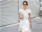 夏日小白裙12种街拍LOOK清凉一夏