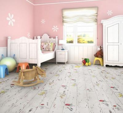 德合家一款适合儿童房铺装的德国进口地板