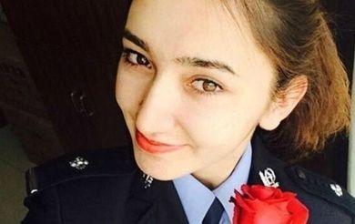 新疆超美反恐女警走红 网友为之倾倒