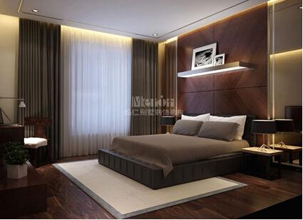 现代简约风格的卧室