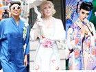 """布兰妮Gaga变""""艺妓""""明星们的那些和服情结"""
