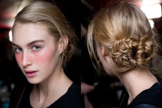 彩绳编头发的方法图解步骤