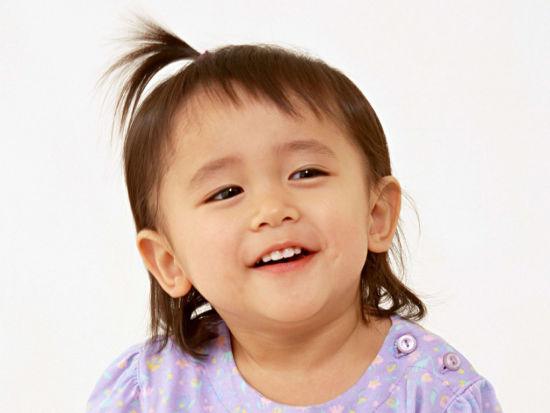 素颜艺术儿童模特造型