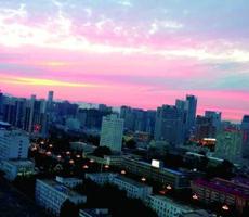 石家庄空气一度全国最佳 网友:历史性的一天