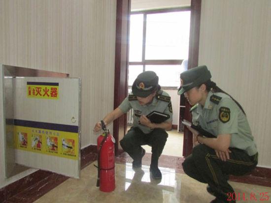 使用的消防产品是否合格;施工现场是否违章用火用电作业;电焊作业人员