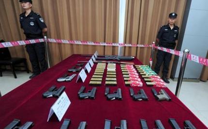 深圳大学生走私武器弹药被抓 受高额利益驱使