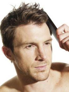 男性护发要学着梳头