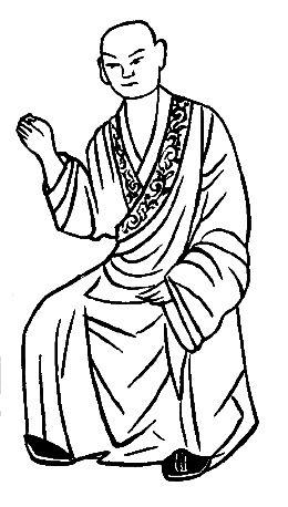 手绘汉代服装效果图