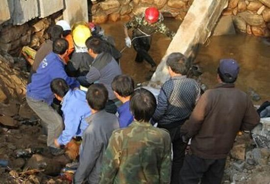 邢台一煤场发生坍塌事故 夫妻俩被砸入水渠溺亡