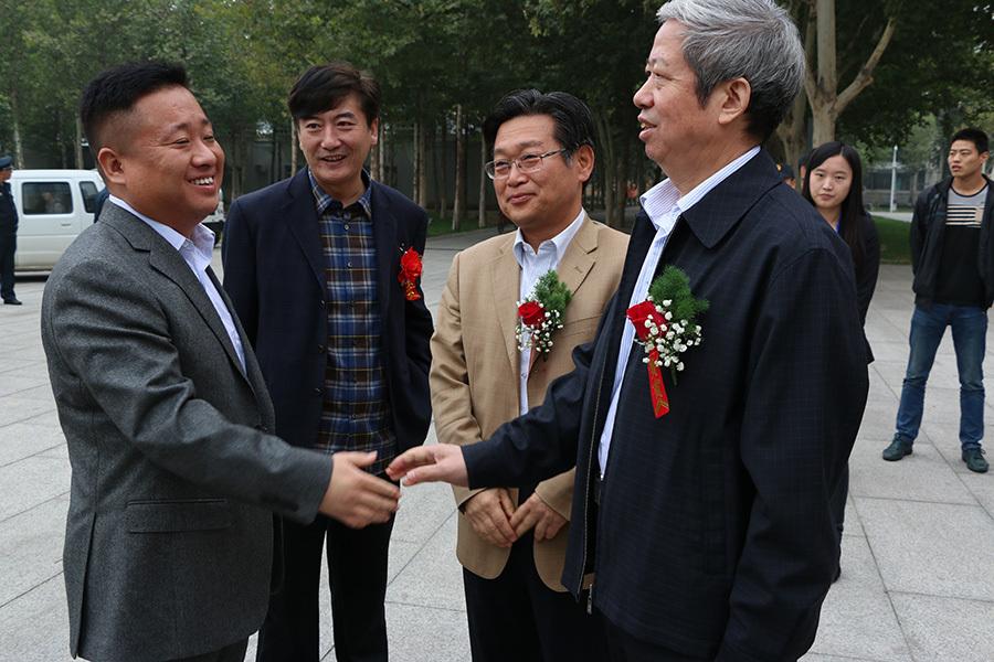 河北省文化发展促进会首届名家画展活动影像