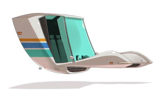 未来汽车想象