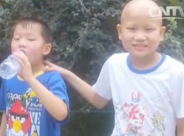 邯郸10岁男孩患白血病 与8岁弟弟配型成功