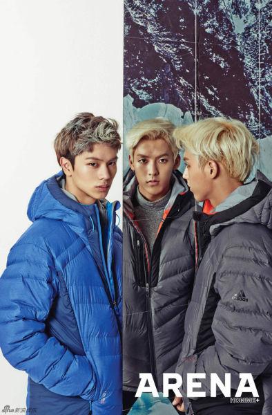 韓男團BTOB寫真戶外型男擺高冷姿態