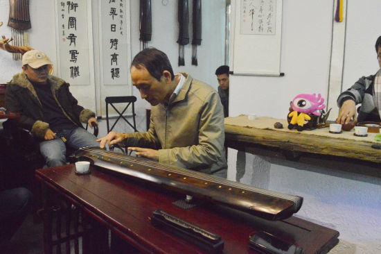 中国当代著名斫琴师倪诗韵访谈