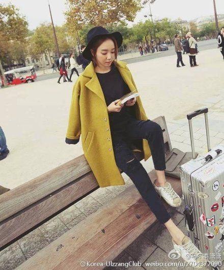 韩式廓型大衣