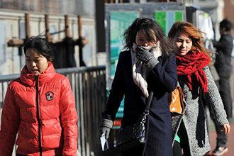 京城最高气温跌破零度