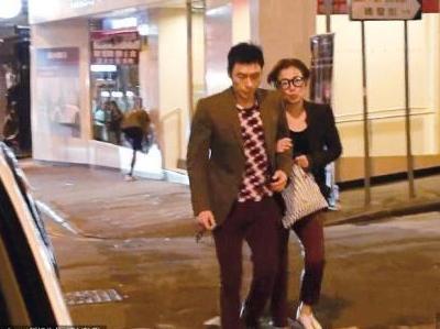 许志安默认与郑秀文结婚 称两个人开心就好