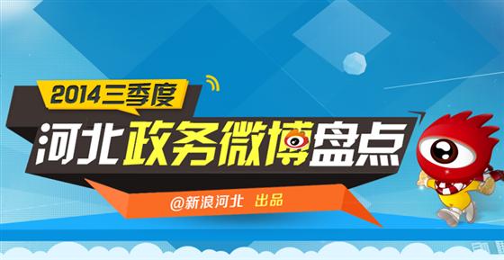 河北省第三季度政务微博排行榜