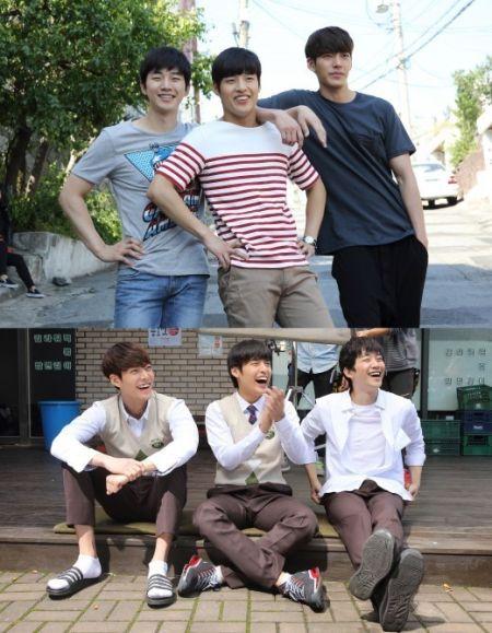 金宇彬姜河那2PM俊昊拍片變傻笑三兄弟