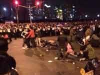 上海外滩发生踩踏事故致35人死亡43人受伤
