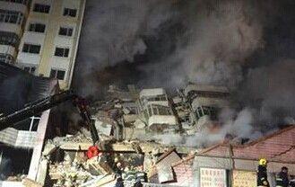 动画演示哈尔滨大楼房屋结构及坍塌原因