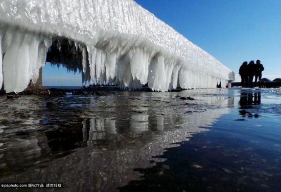 保加利亞瓦爾納冰寒下的美景