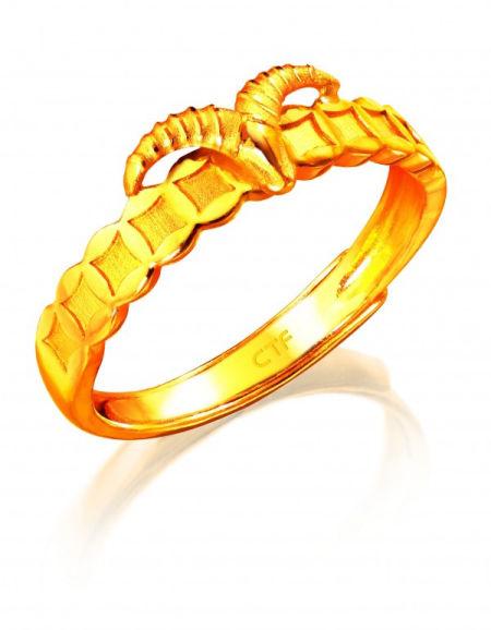 羊戒指雕刻图片
