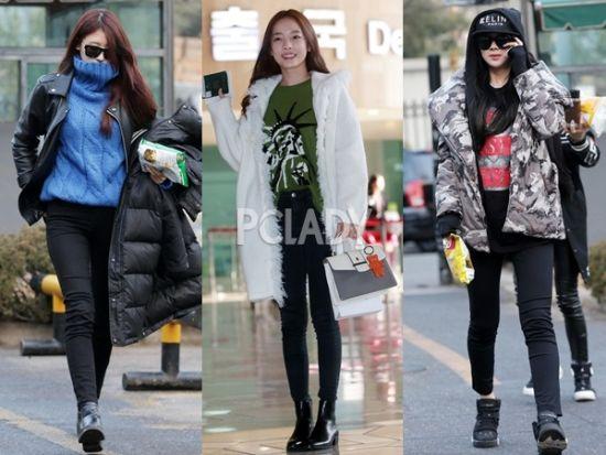 韩国妹子们多元化的穿衣搭配风格