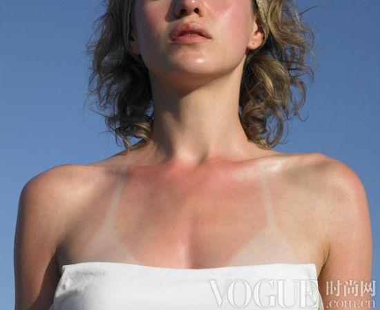 肤色也会影响皱纹