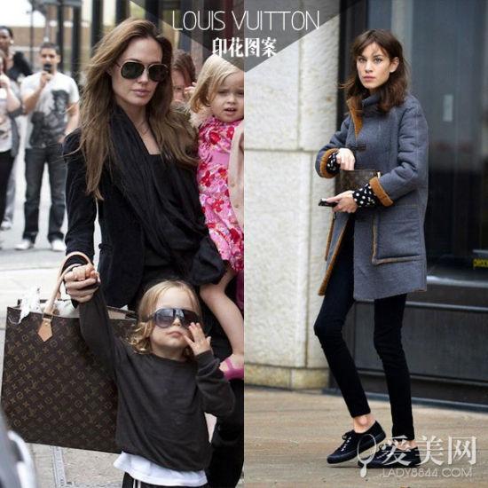 左:安吉丽娜·朱莉 (Angelina Jolie) 右:艾里珊·钟(Alexa Chung)