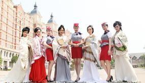 最唯美毕业照走红:一个宿舍走出八名空姐