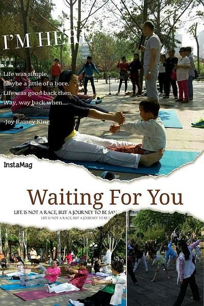 金阳光瑜伽家园户外公益活动即将开始