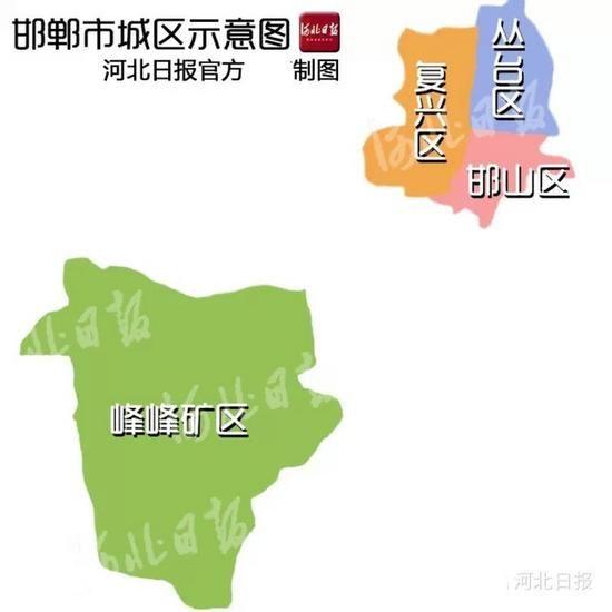 邯郸:市区人口全省第四 面积全省第九