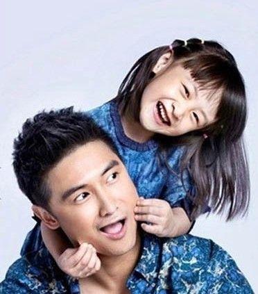 田亮和女儿