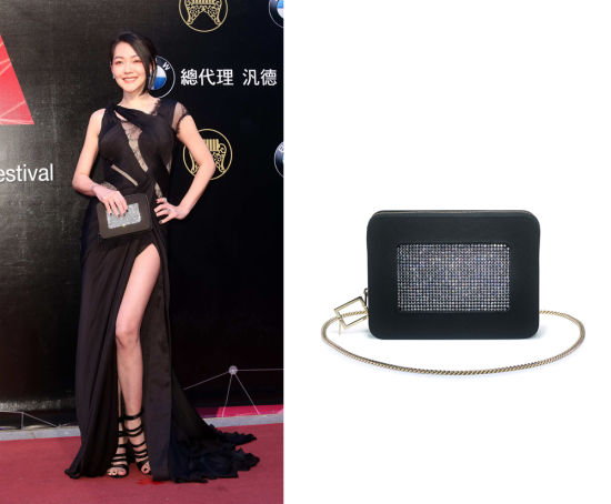 Roger Vivier(罗杰·维维亚)Strass Zipped Clutch RMB 12,500