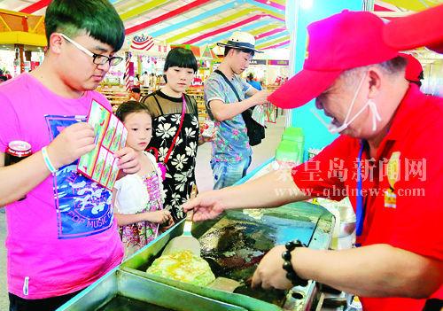 本届秦皇岛沙滩国际美食文化节由中国烹饪协会和市政府共同主办,是