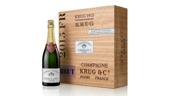 库克私享香槟1915年份订制橡木礼盒