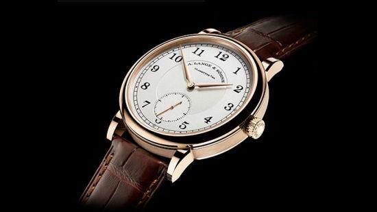 "1815 ""200th Anniversary F. A. Lange"" 18K蜂蜜色金纪念款腕表限量发行200枚"