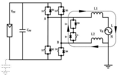 家用5kw光伏发电路图