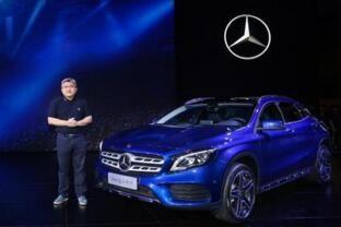 售27.18-39.9万元 新一代奔驰GLA上市