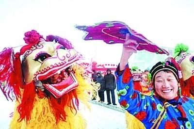 桂林狮子舞