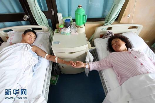 """""""暴走""""妈妈捐肾救子日前手术顺利完成"""