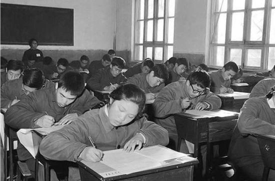 高考36年变迁珍贵影像